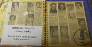 Birdena Haven's Scrapbooks